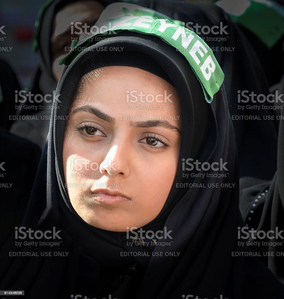 Day of Ashura Mourning ceremony in Turkey stock photo
