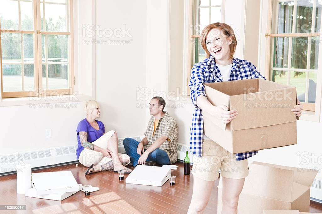 Day of Moving royalty-free stock photo