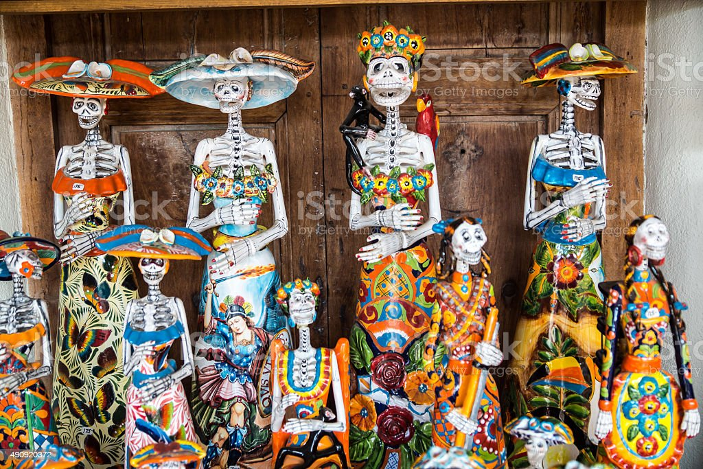 Day of the Dead Crafts stock photo
