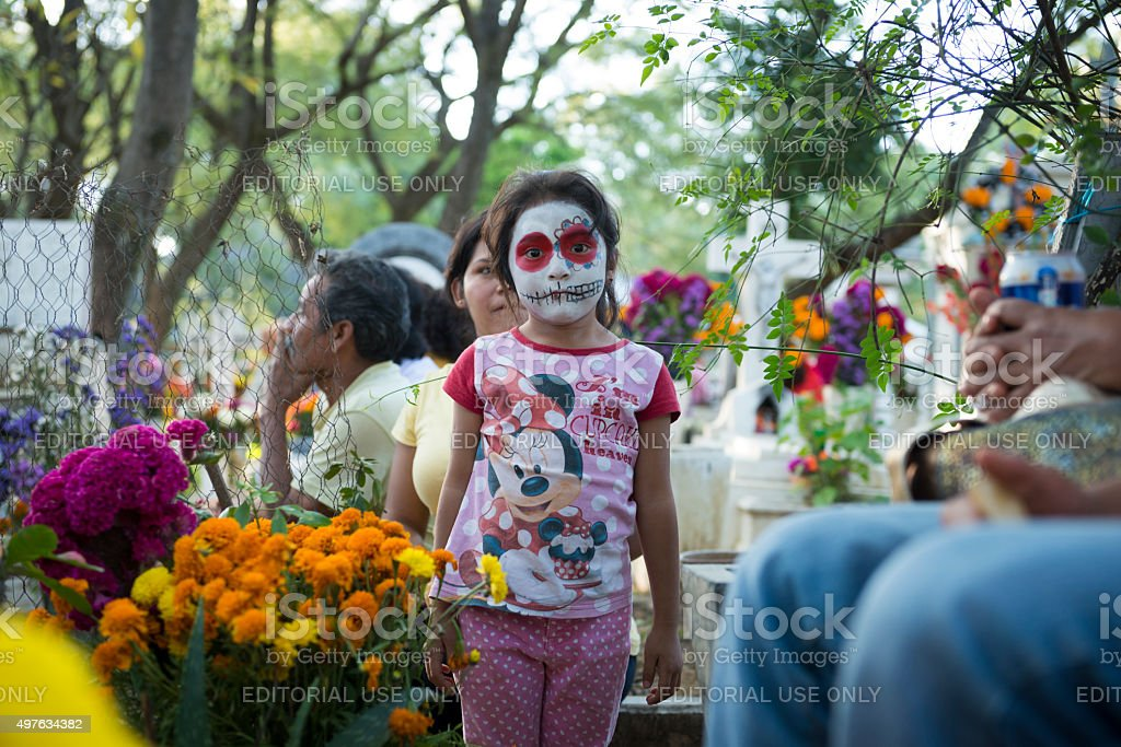 Day of the Dead in Oaxaca, Mexico stock photo