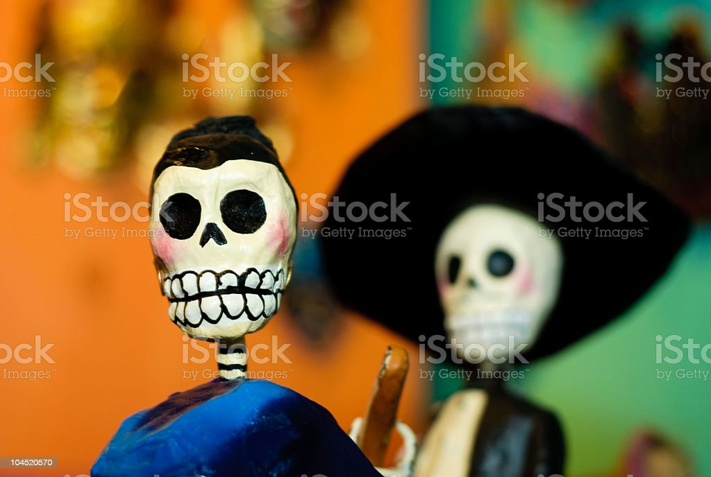 Dia de los muertos royalty-free stock photo