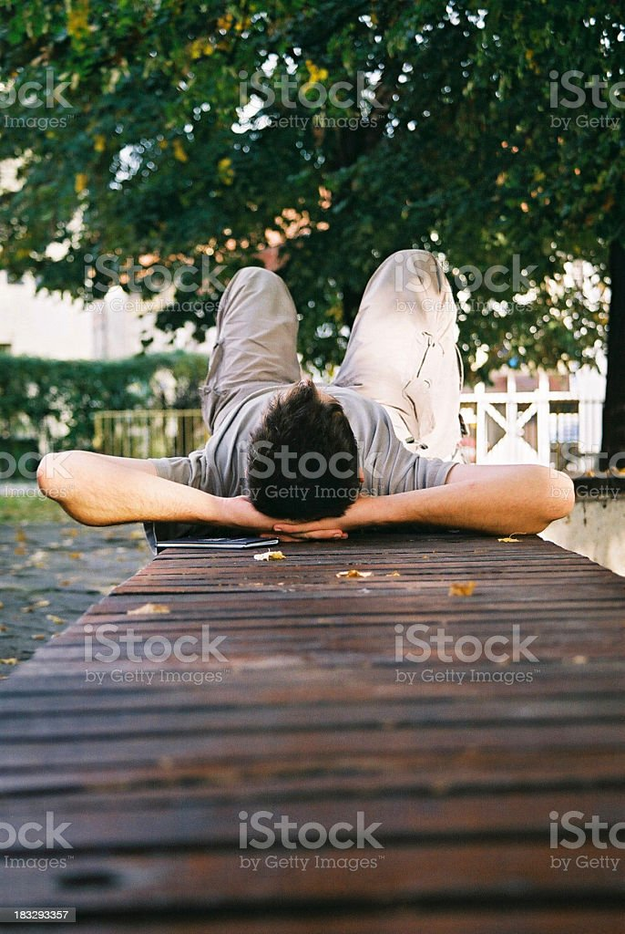 Day Off royalty-free stock photo