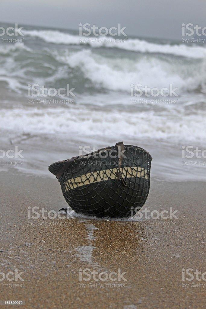D Day Omaha Beach. royalty-free stock photo