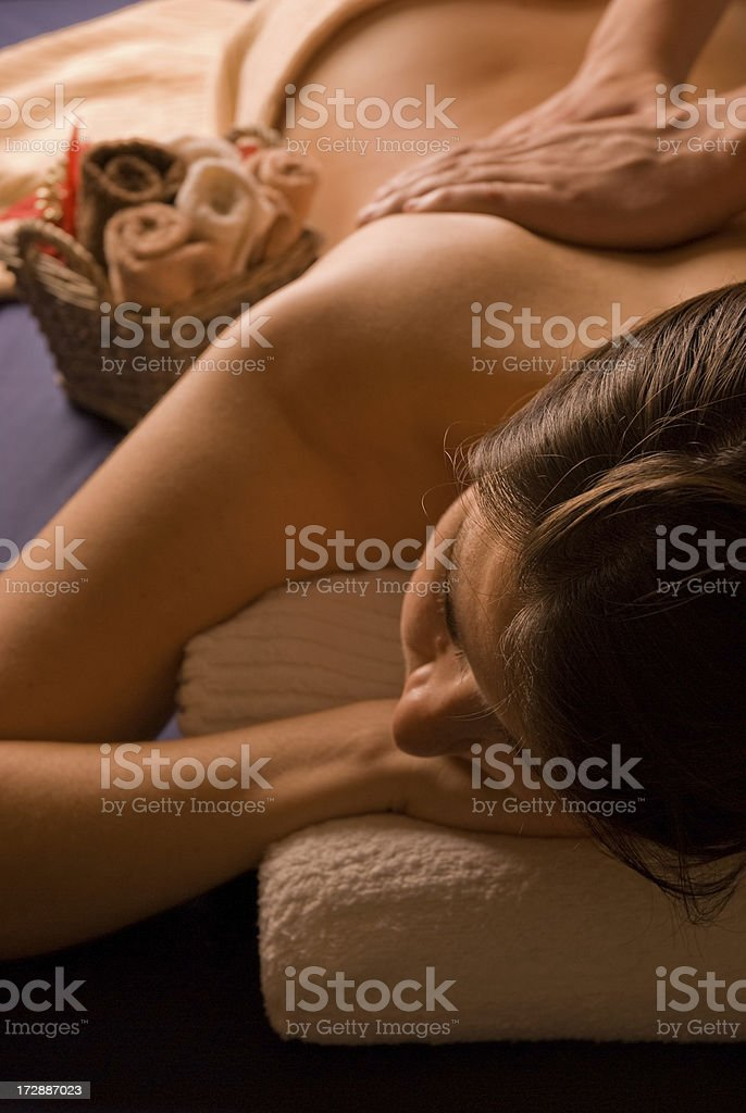 Day Spa Massage royalty-free stock photo