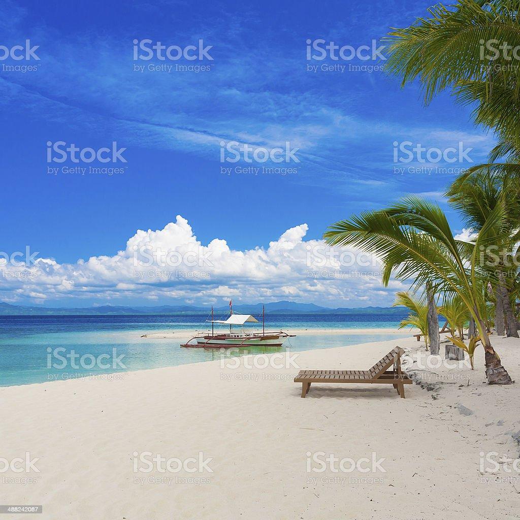 day tropical sea stock photo