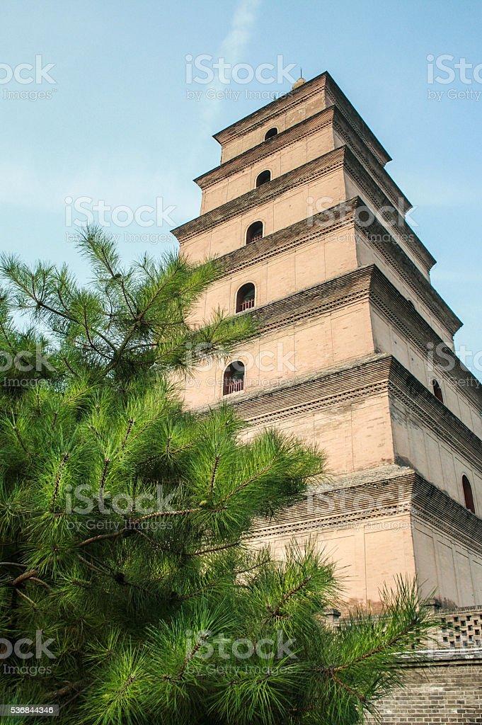 Dayan Tower stock photo