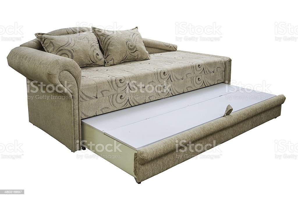 daybed couch stock photo