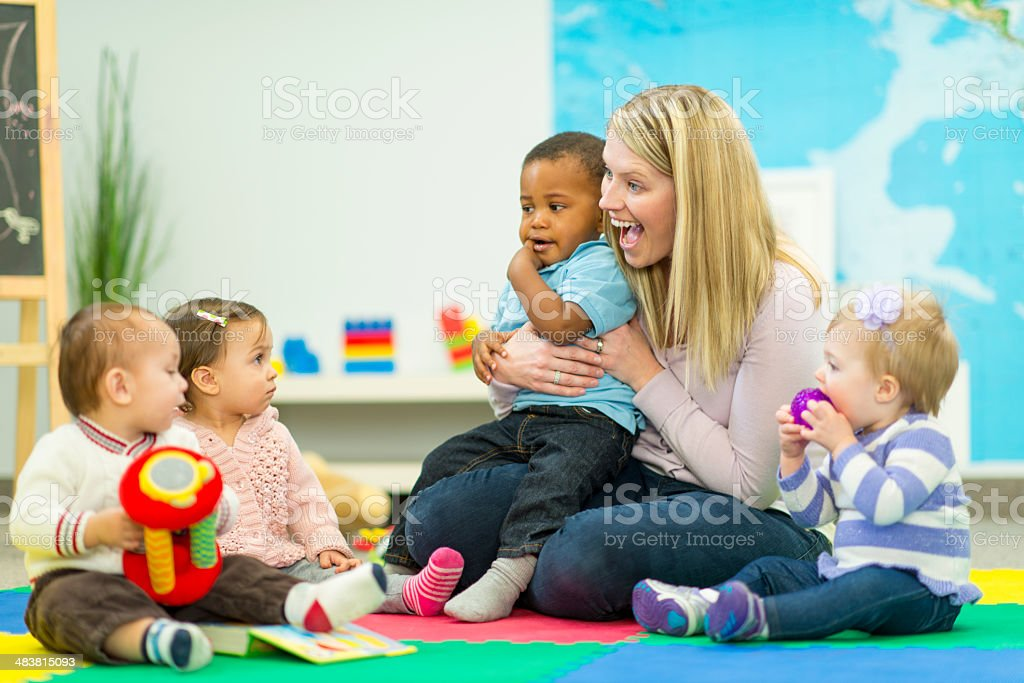 Daycare stock photo