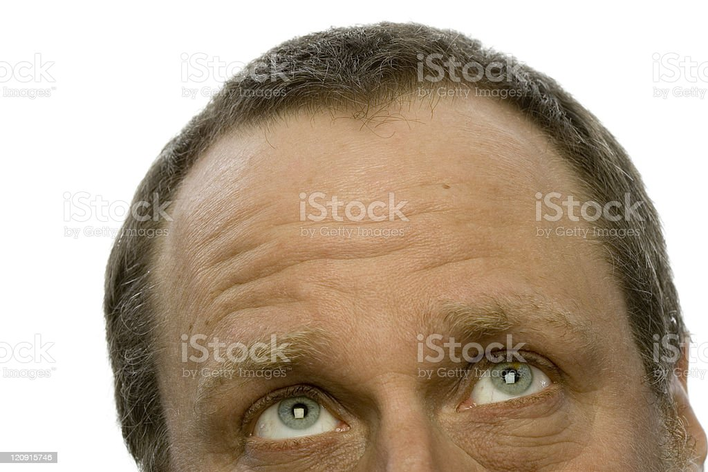 Daydreaming royalty-free stock photo