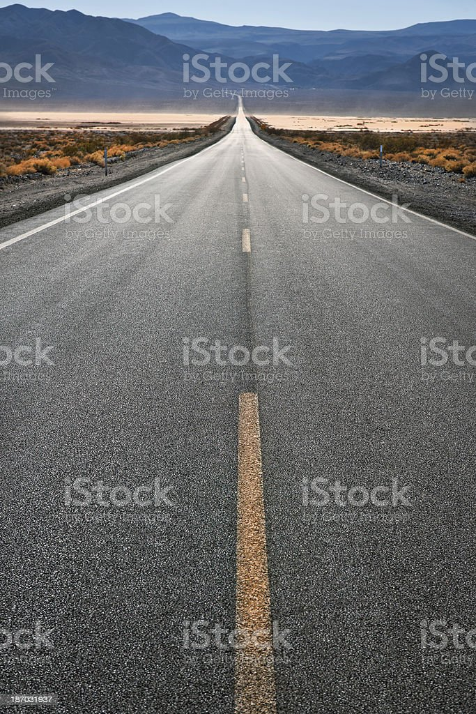 Daylight Pass Road Death Valley USA royalty-free stock photo