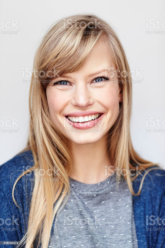 Daylight portrait stock photo