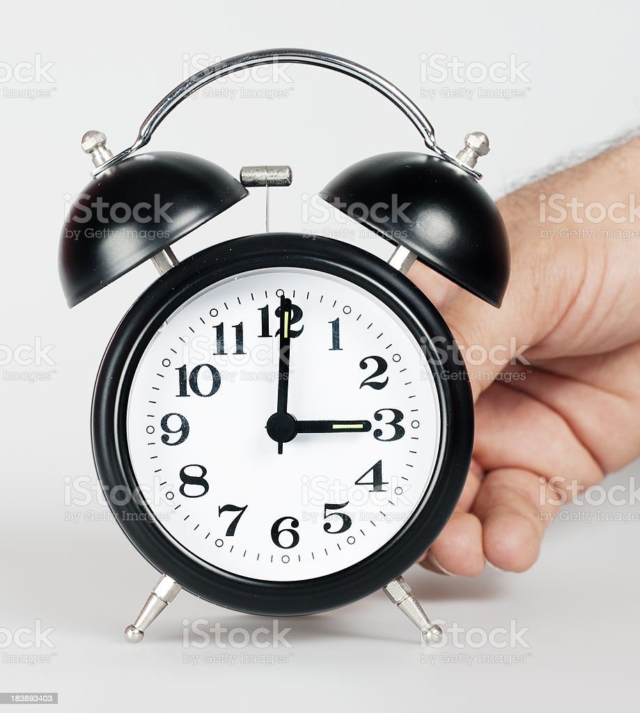 Daylight savings time stock photo