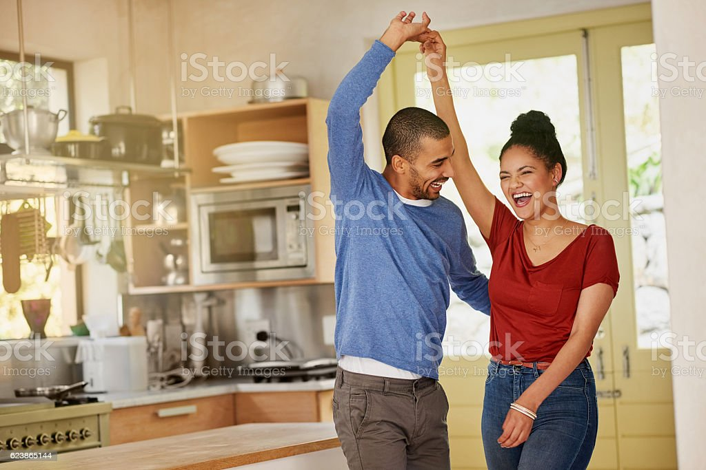Days like these were meant for dancing stock photo