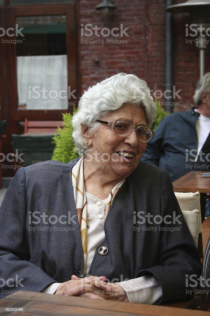 Days of an elder female royalty-free stock photo