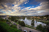 Daytime Shot of Echo Park, Los Angeles