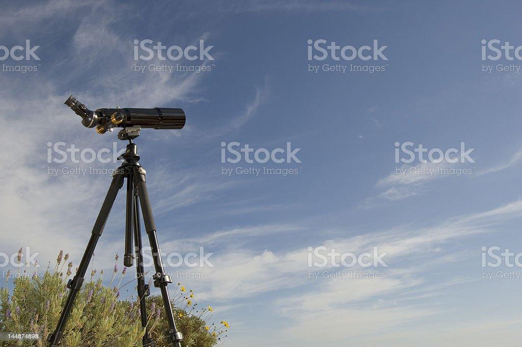 Daytime Spotting Scope royalty-free stock photo