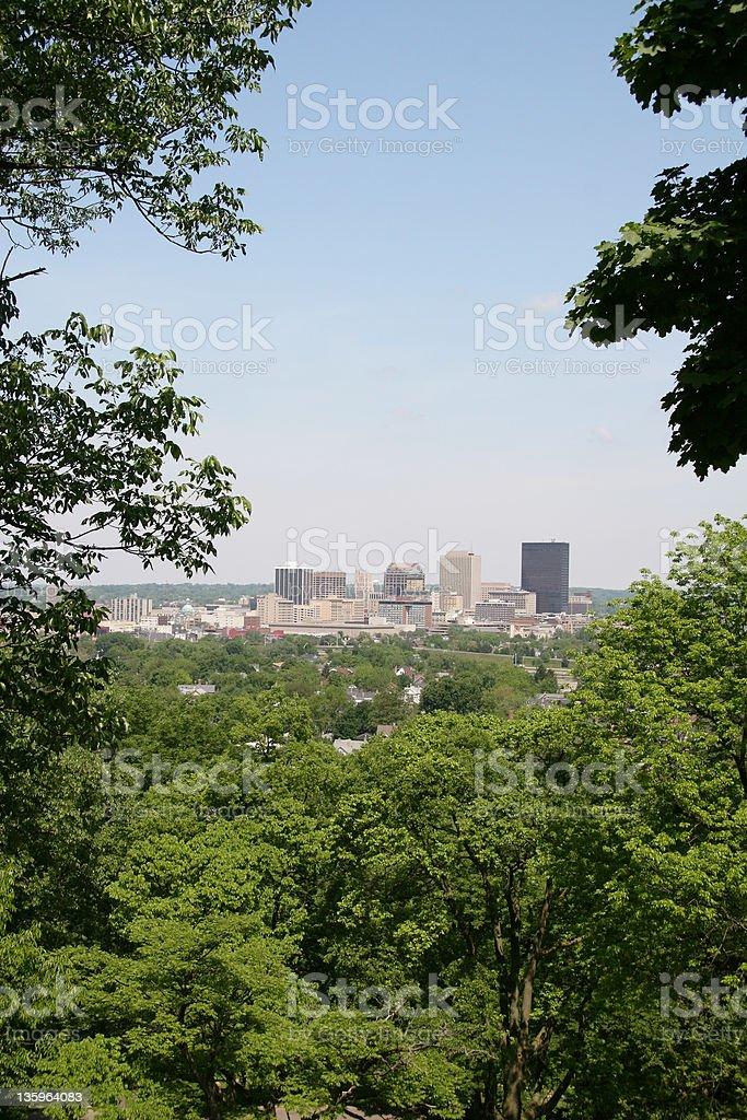 Dayton Cityscape Skyline 2, Dayton, Ohio royalty-free stock photo