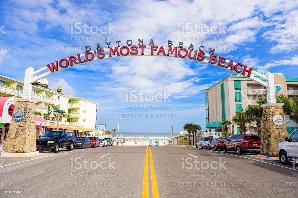 Daytona Beach florida stock photo