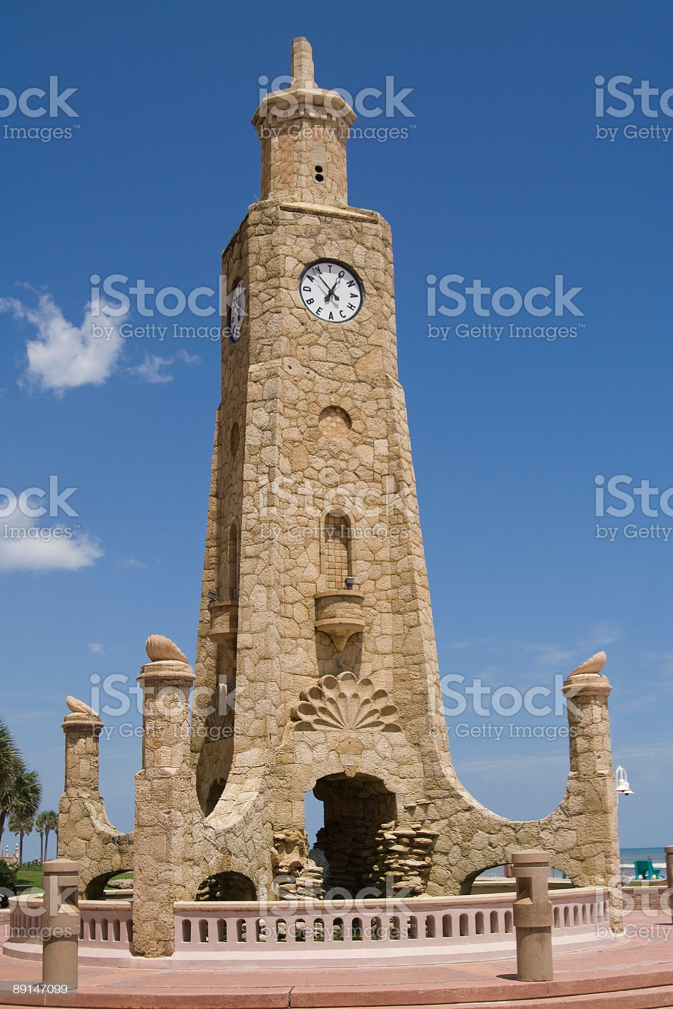Daytona Clock Tower royalty-free stock photo