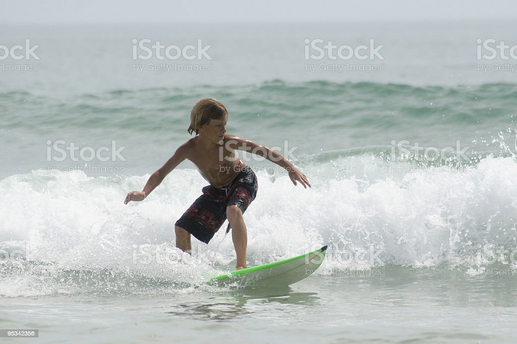 Daytona Surf royalty-free stock photo