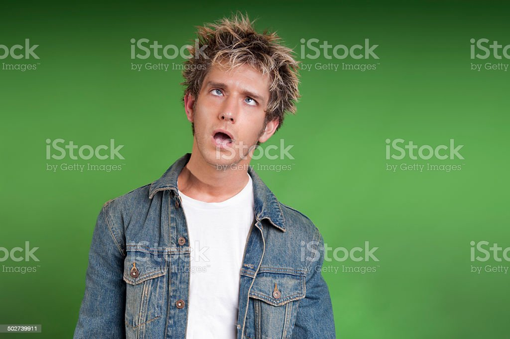 Dazed and Confused stock photo