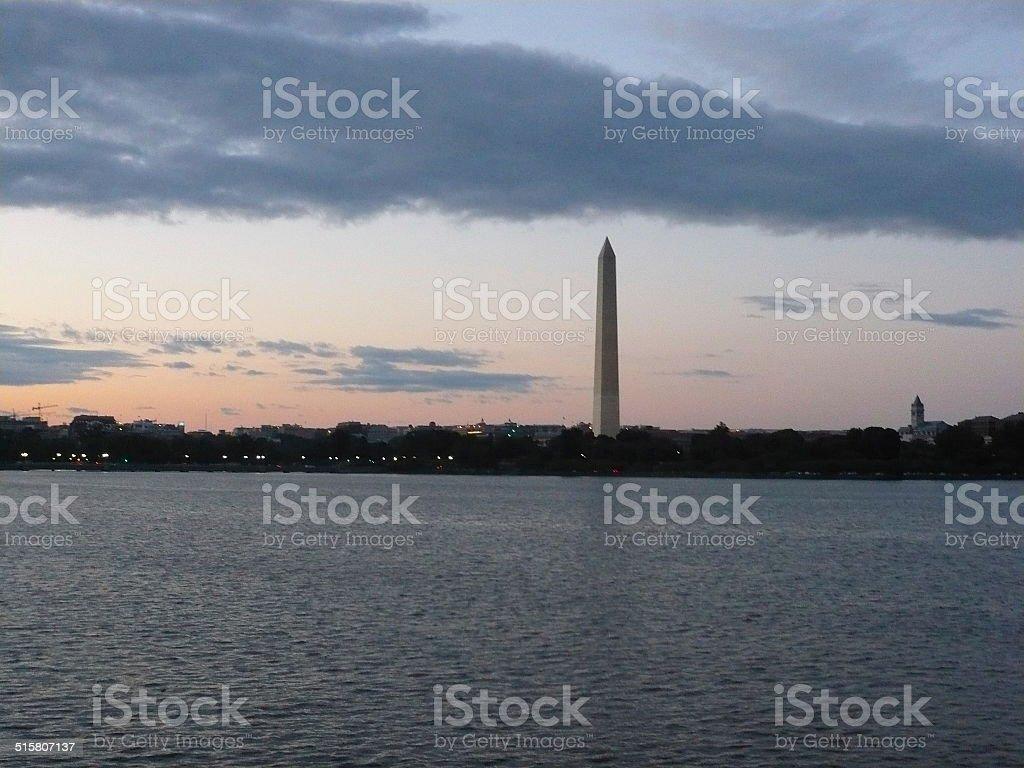 dc sunset royalty-free stock photo