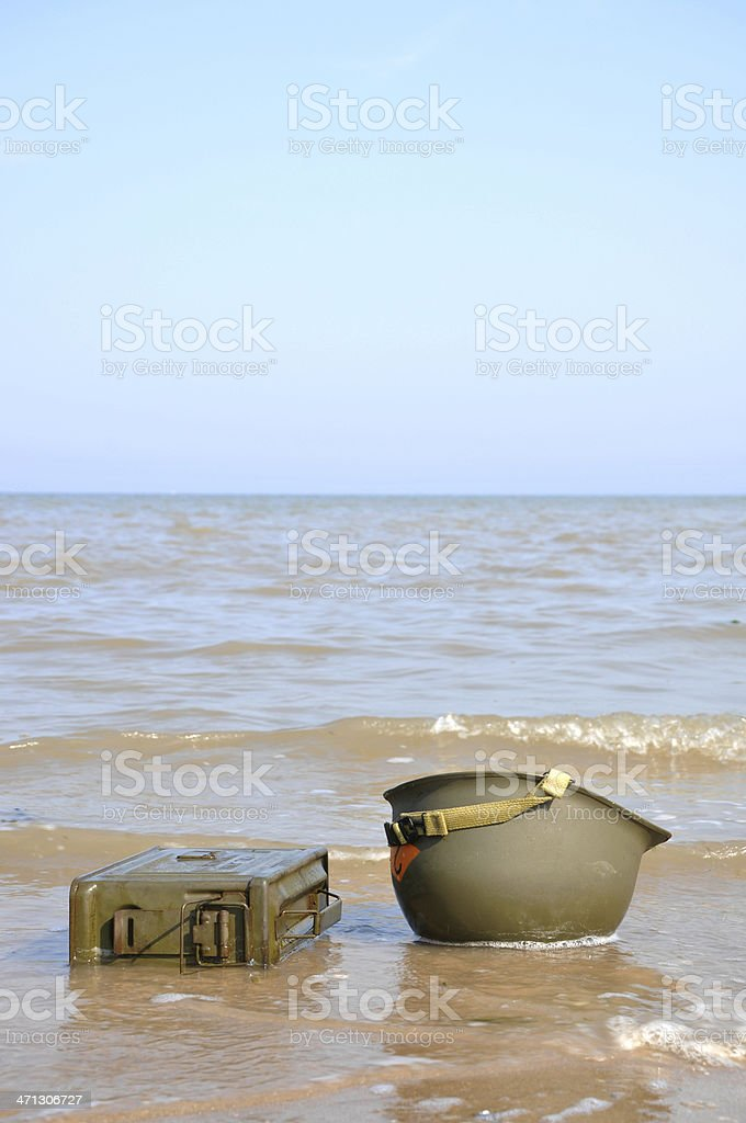 D-Day Landings royalty-free stock photo