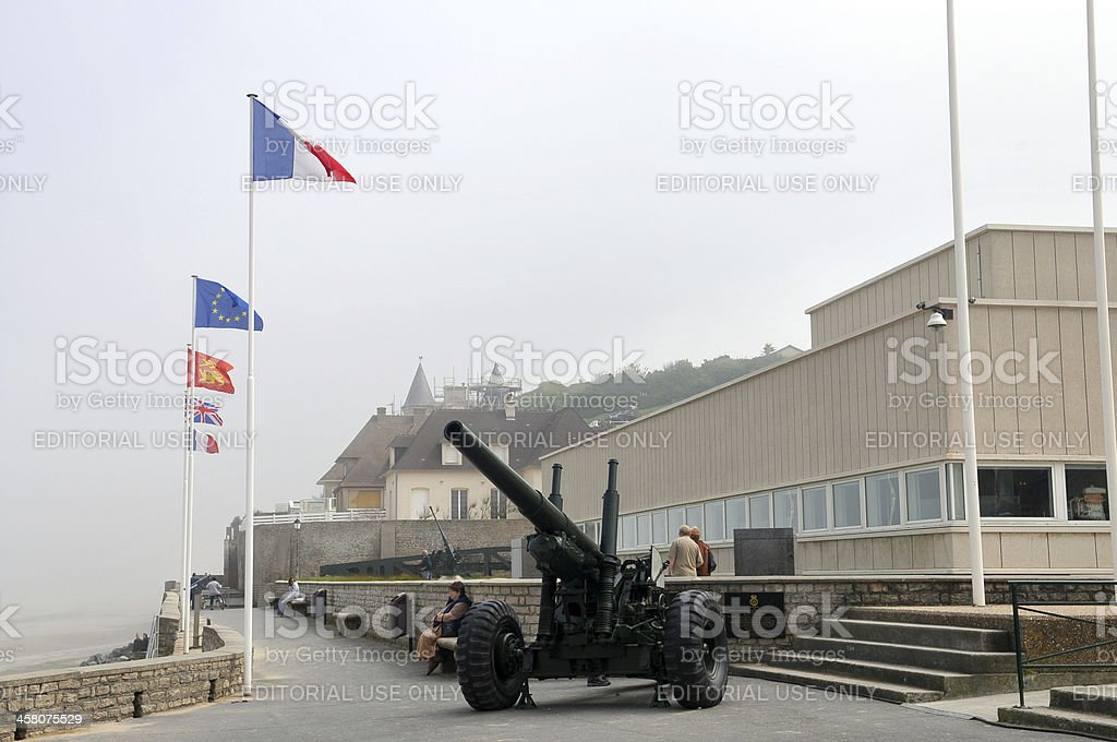 D-Day Museum stock photo