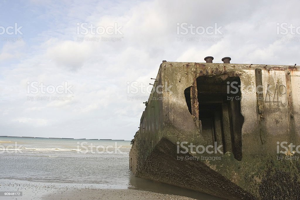 D-Day  - Normandy, France VII royalty-free stock photo