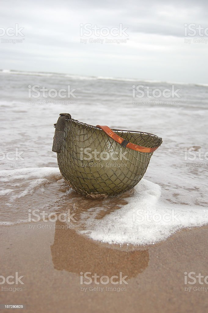 D-Day Plus 1. stock photo