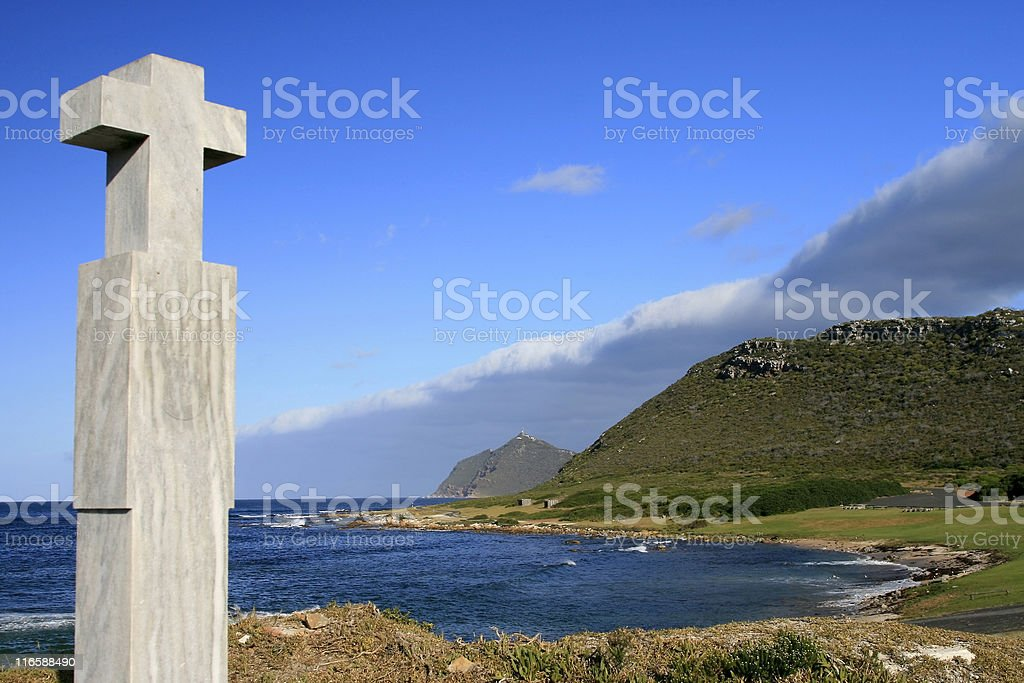 De Gama Cross in Cape Town, South Africa royalty-free stock photo