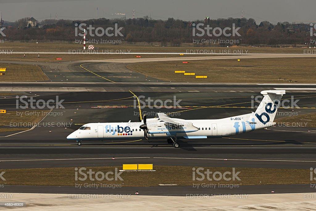 De Havilland Canada DHC-8-402Q stock photo