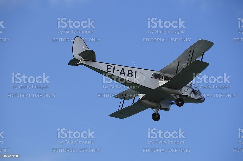 De Havilland DH-84 Dragon, U.K. stock photo