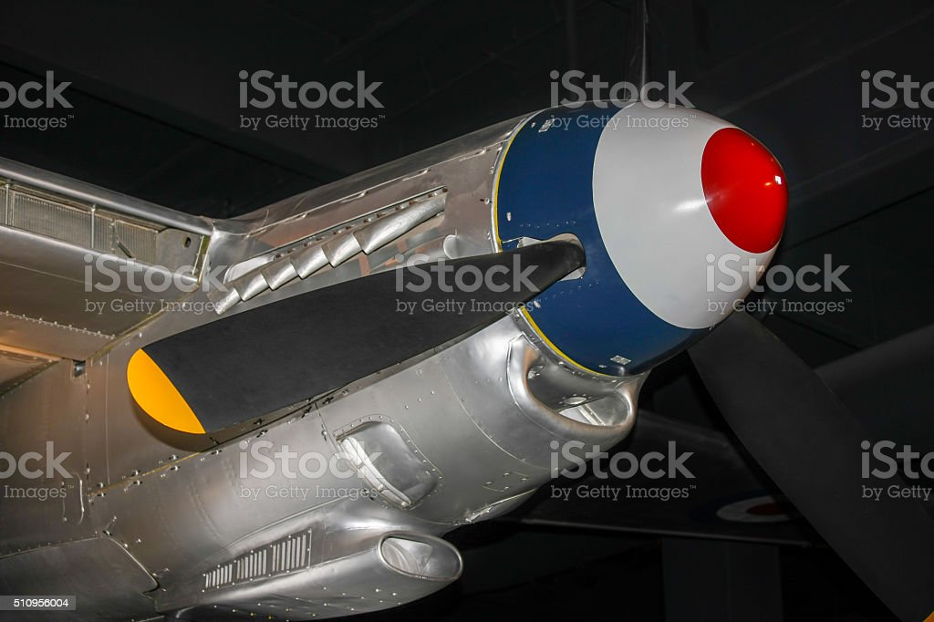 de Havilland DH.98 Mosquito Engine stock photo