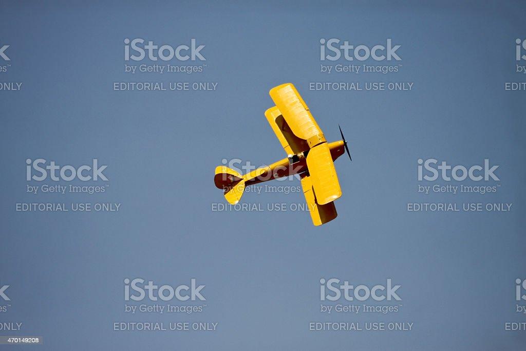 de Havilland Tiger Moth stock photo