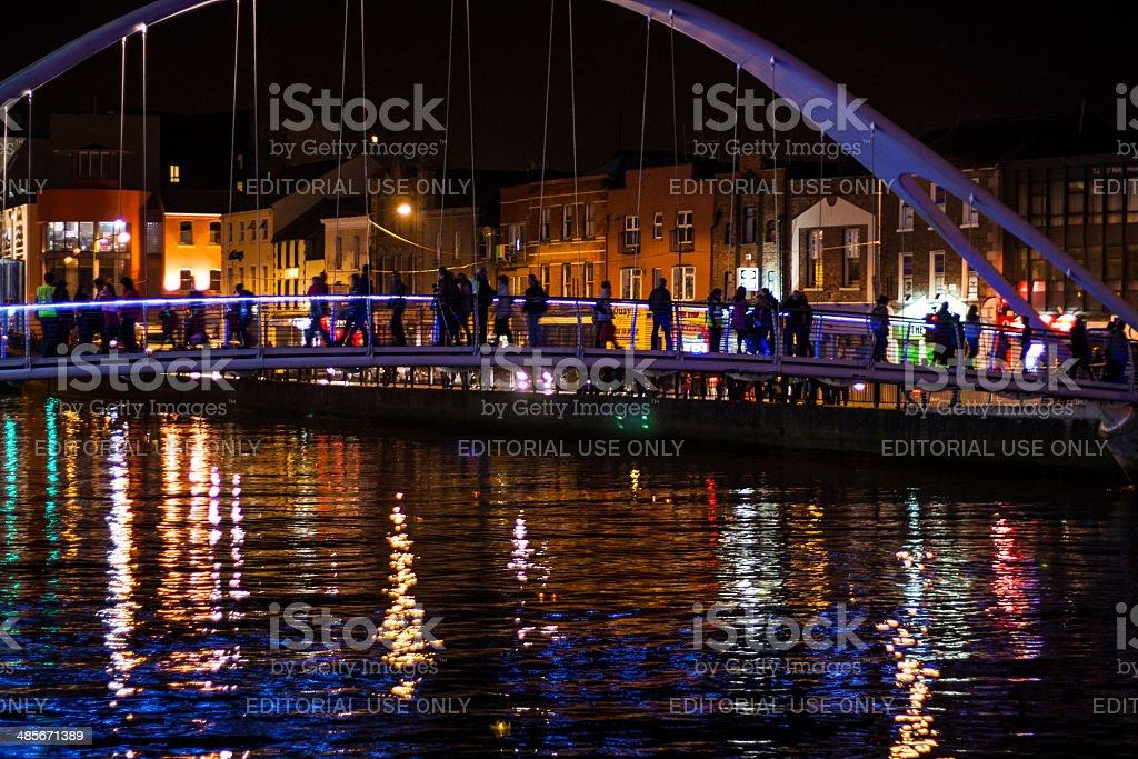 De Lacy Bridge River Boyne Drogheda stock photo