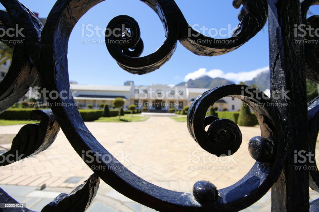 De Tuynhuys Cape Town Government Office South Africa Company Gardens stock photo