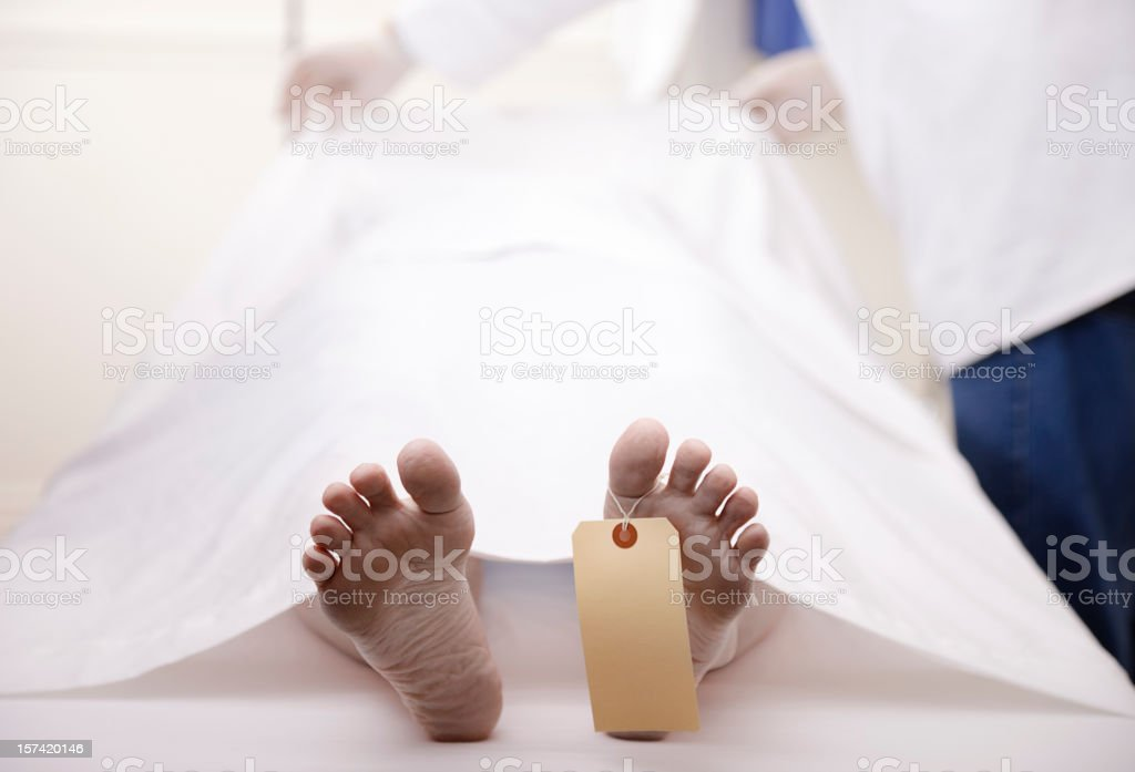 Dead Body royalty-free stock photo