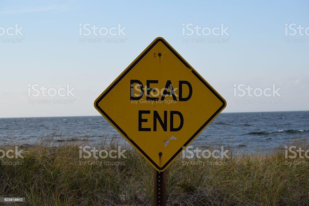 Dead End stock photo