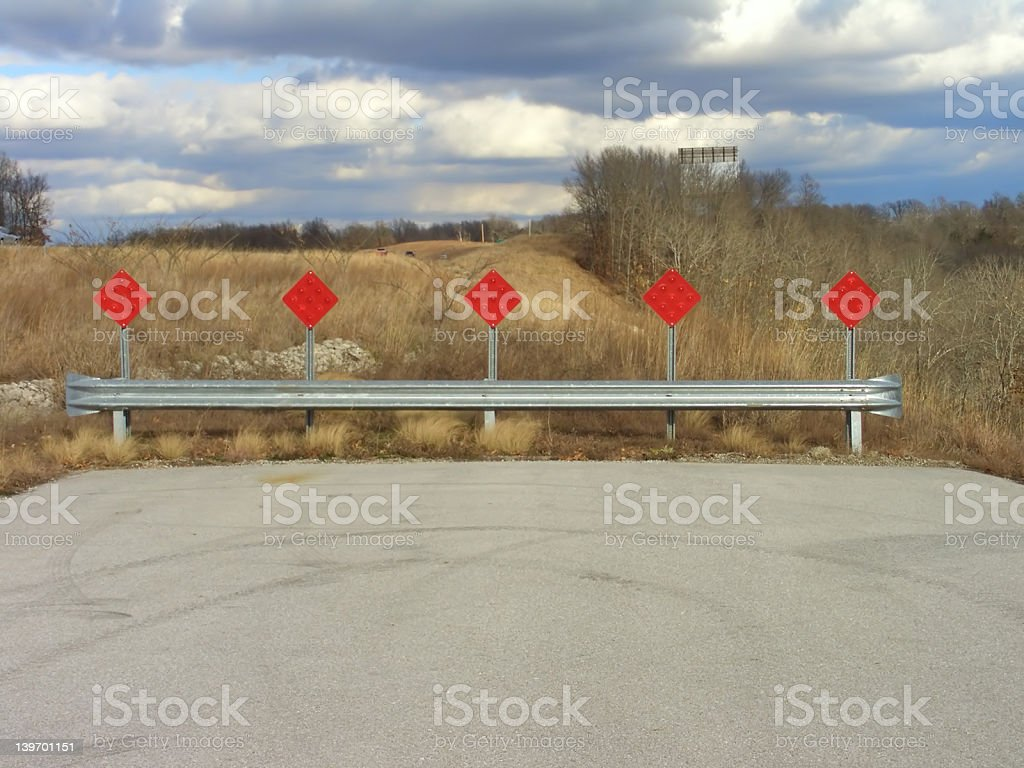 Dead End Street royalty-free stock photo