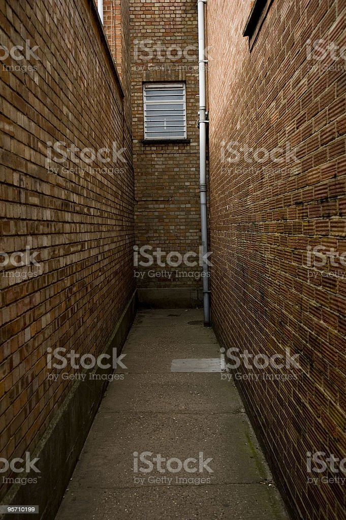 Dead end Street stock photo