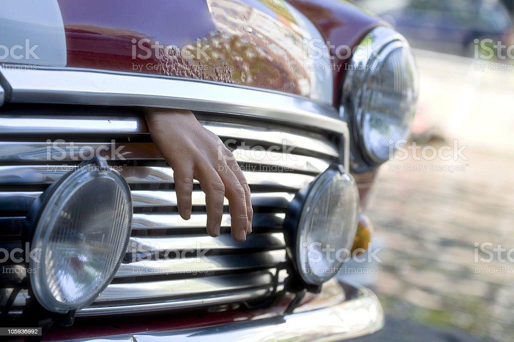 dead hand stock photo