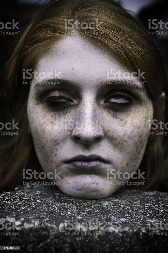 Dead Head stock photo
