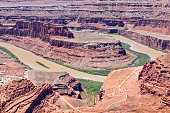 Dead Horse Point Overlook in Utah, North America
