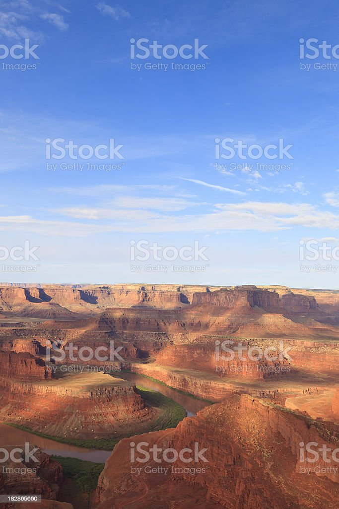 Dead Horse Point royalty-free stock photo