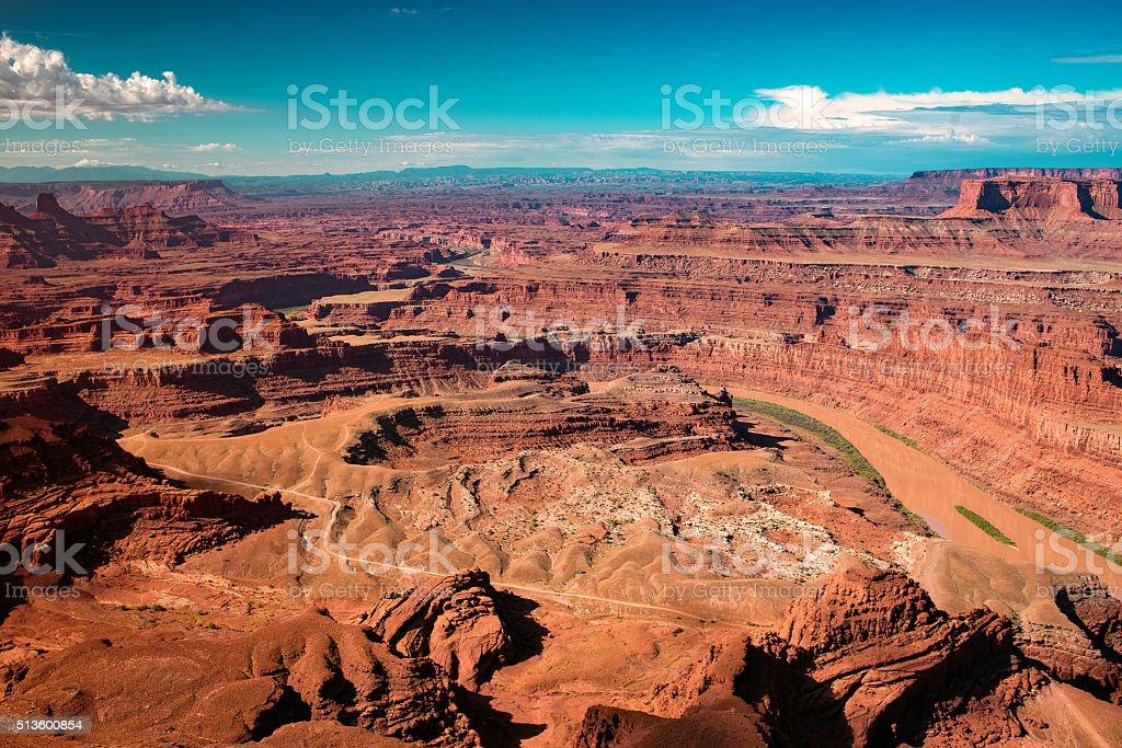 dead horse point stock photo