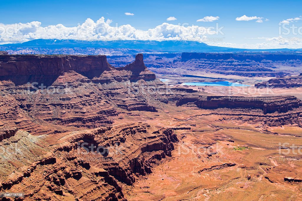 Dead Horse Point State Park in Utah, North America stock photo