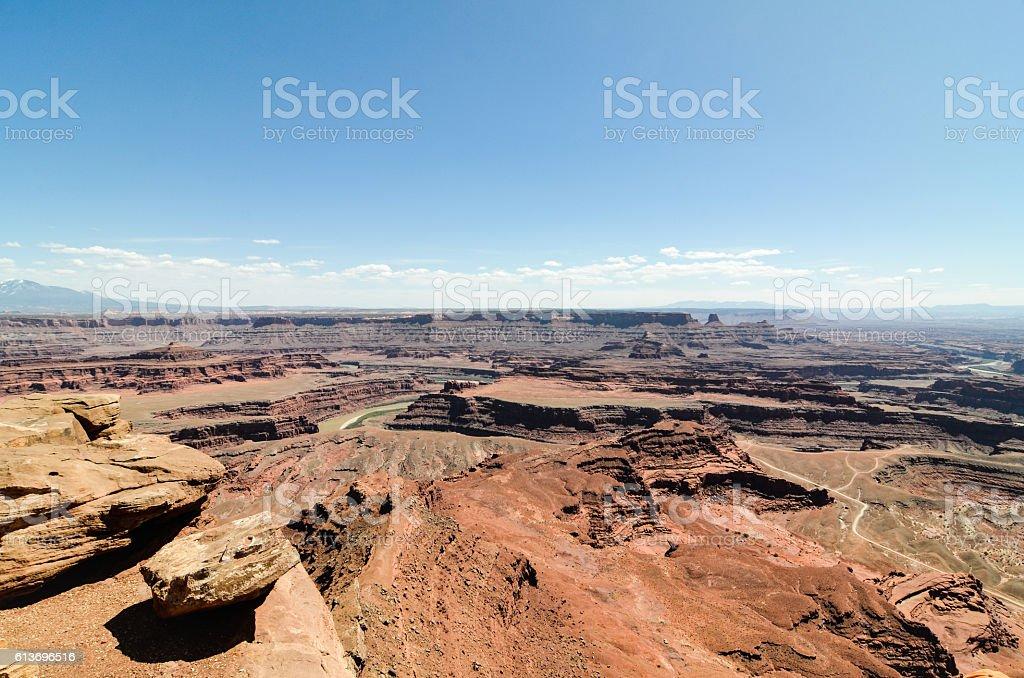 Dead Horse Point State Park, Moab, Utah stock photo