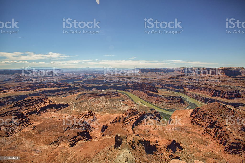 Dead Horse Point State Park, Utah stock photo