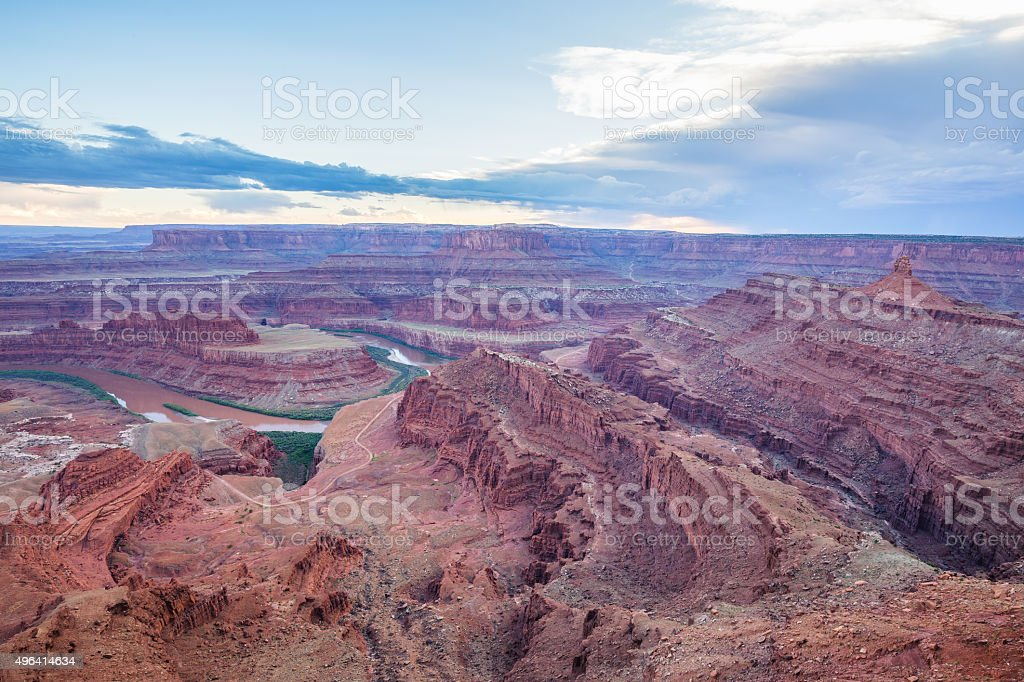 Dead Horse Point State Park, Utah, USA stock photo